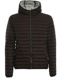 Colmar Hooded Quilted Jacket - Black