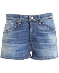 Dondup Micol Shorts - Blue