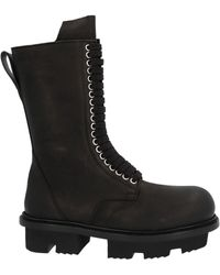 Rick Owens - Army Bozo Megatooth Boots - Lyst