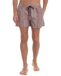 Paul Smith Signature Stripe Boxer Swimsuit - Multicolor