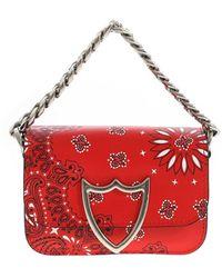 HTC Bandana Printed Bag Small Bag - Red