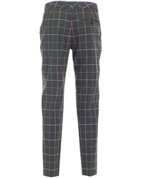 PS by Paul Smith Checked Trousers - Green