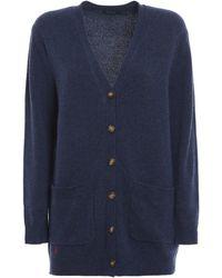 Polo Ralph Lauren Wool Blend Cardigan - Blue