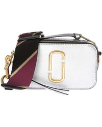 Marc By Marc Jacobs - Silver Snapshot Bag - Lyst