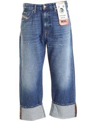 DIESEL Jeans D-Reggy Azzurri - Blu