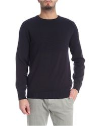 Jurta - Blue And Brown Crew-neck Pullover - Lyst