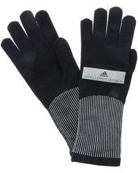 Stella McCartney Run Gloves - Black