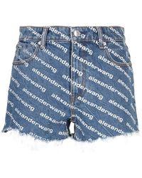 Alexander Wang Shorts - Blu