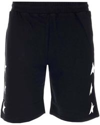 Golden Goose Diego Bermuda Shorts - Black