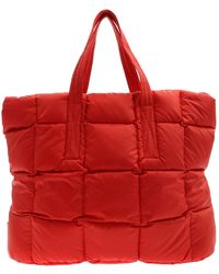 Aspesi Red Quilted Bag
