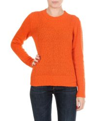 Jucca - Orange Wool And Cachemire Pullover - Lyst