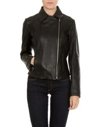 Jucca - Black Leather Jacket - Lyst