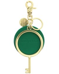 See By Chloé Jey Rubber Keychain - Green