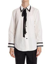 Marc Jacobs - Cotton Shirt - Lyst