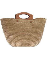 Tod's Straw Handbag - Natural