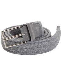 Orciani - Wool Belt - Lyst