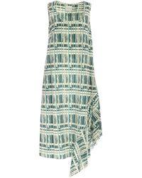 Ballantyne Sleeveless Long Dress - Green