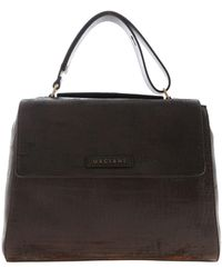 Orciani Sveva Handbag In Dark Brown