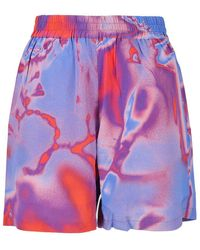 McQ - Tech Fabric Shorts - Lyst
