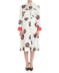 Paul Smith - Ivory Sun Printed Dress - Lyst