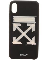 Off-White c/o Virgil Abloh Cover Tape Arrows Nera E Bianca - Nero