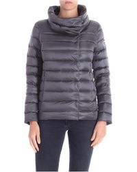 Colmar - Dark Grey Place Down Jacket With Crater Collar - Lyst