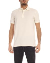 Ballantyne Cotton Piqué Polo Shirt - White