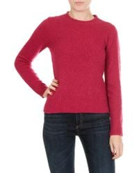 Jucca - Pink Wool And Cachemire Pullover - Lyst