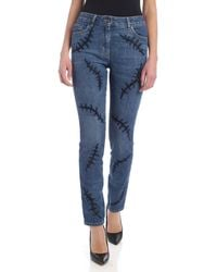 Moschino Scars Jeans - Blue