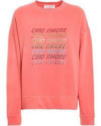 Giada Benincasa Embellished Sweatshirt - Pink
