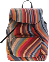 Paul Smith - Logo Detail Backpack - Lyst