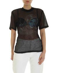 Off-White c/o Virgil Abloh T-Shirt Panther Nera - Nero