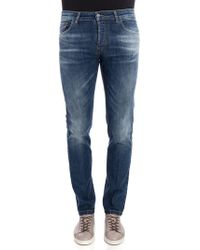 Entre Amis - Cotton Jeans - Lyst