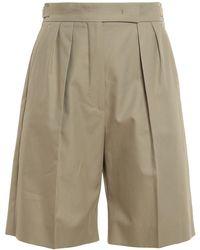 Max Mara Safari Bermuda Shorts - Grey
