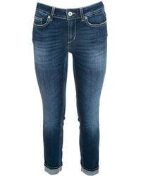 Dondup Jeans Monroe Blu Delavè
