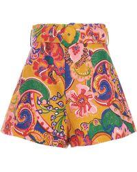 Zimmermann The Lovestruck Shorts - Multicolour