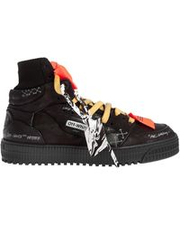 Off-White c/o Virgil Abloh Black Off Court 3.0 High-top Trainers