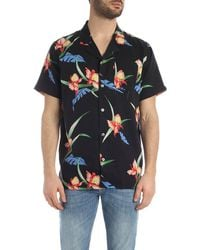 Levi's Black And Multicolor Cubano Shirt