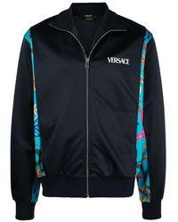 Versace Felpa Con Stelle Marine Blu