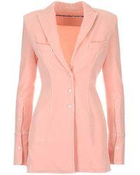 Alexander Wang Jersey Blazer - Pink