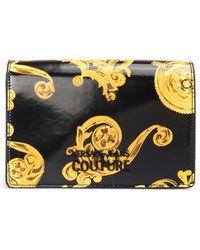 Versace Jeans Jewel Print Cross Body Bag - Black