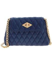 Ballantyne Diamond Quilted Bag - Blue