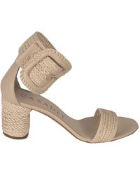 Casadei Braided Sandals - Pink