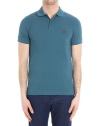 Brooks Brothers - Teal Colored Cotton Polo - Lyst