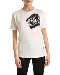 Vivienne Westwood Anglomania - T-Shirt New Classic Arm&Cutlass Rosa - Lyst