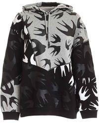 McQ Swallow Print Sweatshirt - Gray