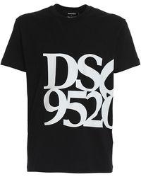 DSquared² Cotton Jersey T-shirt - Black