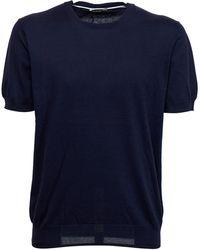 Paolo Pecora Blue T-shirt