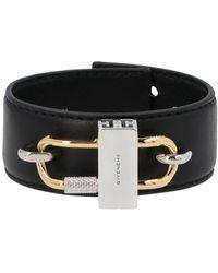 Givenchy Lock Bracelet - Black