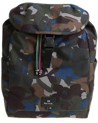 PS by Paul Smith - Camouflage Backpack - Lyst